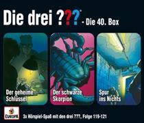 Cover-Bild zu Die drei ??? - 3er Box 40 (Folgen 119, 120, 121)
