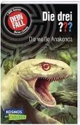 Cover-Bild zu Die drei ???: Dein Fall: Die weiße Anakonda von Kühlen, Michael