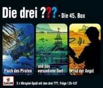 Cover-Bild zu Die drei ??? 045 / 3er Box (Folgen 135, 136, 137)