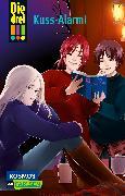 Cover-Bild zu Die drei !!! 11: Kuss-Alarm! von Wich, Henriette