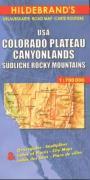 Cover-Bild zu USA Colorado Plateau, Canyonlands, Südliche Rocky Mountains 1 : 700 000. Hildebrands Urlaubskarte
