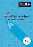 Cover-Bild zu Duden Ratgeber - Die schriftliche Arbeit