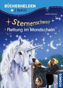 Cover-Bild zu Sternenschweif, Bücherhelden 2. Klasse, Rettung im Mondschein von Chapman, Linda