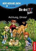 Cover-Bild zu Die drei ??? Kids, Bücherhelden 2. Klasse, Achtung, Dinos! von Pfeiffer, Boris