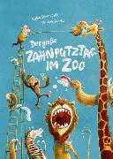 Cover-Bild zu Der große Zahnputztag im Zoo (Mini-Ausgabe) von Schoenwald, Sophie