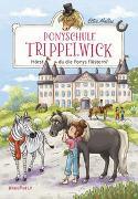 Cover-Bild zu Ponyschule Trippelwick - Hörst du die Ponys flüstern? von Mattes, Ellie