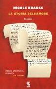 Cover-Bild zu La storia dell'amore von Krauss, Nicole