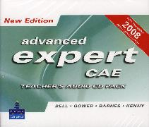 Cover-Bild zu Advanced Expert CAE New Edition Advanced Expert New Edition Teacher's CD Pack (4) - Advanced Expert CAE. New Edition von Bell, Jan