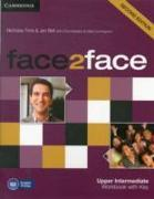 Cover-Bild zu face2face Upper Intermediate Workbook with Key von Tims, Nicholas
