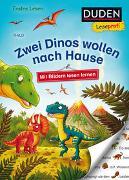 Cover-Bild zu Duden Leseprofi - Mit Bildern lesen lernen: Zwei Dinos wollen nach Hause, Erstes Lesen von THiLO