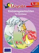 Cover-Bild zu Einhorngeschichten für Erstleser - Leserabe 1. Klasse - Erstlesebuch für Kinder ab 6 Jahren von Grolik, Markus