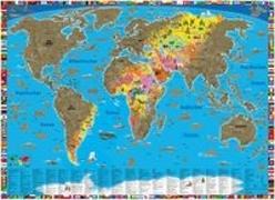 Cover-Bild zu Rubbelposter Welt
