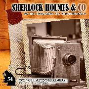 Cover-Bild zu Sherlock Holmes & Co, Folge 54: Tod vor laufender Kamera (Audio Download) von Duschek, Markus