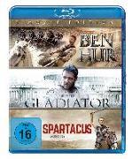 Cover-Bild zu BEN HUR/GLADIATOR/SPARTACUS BD ST von Joaquin Phoenix (Schausp.)