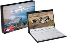 Cover-Bild zu KUNTH Verlag (Hrsg.): Norwegen Tischkalender 2022