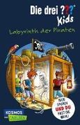 Cover-Bild zu Blanck, Ulf: Die drei ??? Kids und du: Labyrinth der Piraten