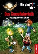 Cover-Bild zu Blanck, Ulf: Die drei ??? Kids, Das Grusellabyrinth