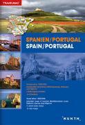 Cover-Bild zu KUNTH Verlag GmbH & Co. KG (Hrsg.): Reiseatlas Spanien / Portugal. 1:300'000