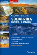 Cover-Bild zu KUNTH Verlag GmbH & Co. KG (Hrsg.): Großer Reiseatlas Südafrika / Namibia / Botsuana. 1:1'500'000