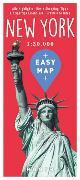 Cover-Bild zu KUNTH Verlag GmbH & Co. KG (Hrsg.): EASY MAP International NEW YORK. 1:20'000