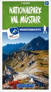 Cover-Bild zu Hallwag Kümmerly+Frey AG (Hrsg.): Nationalpark - Val Müstair 37 Wanderkarte 1:40 000 matt laminiert. 1:40'000