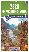 Cover-Bild zu Hallwag Kümmerly+Frey AG (Hrsg.): Bern 18 Wanderkarte 1:40 000 matt laminiert. 1:40'000