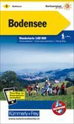 Cover-Bild zu Hallwag Kümmerly+Frey AG (Hrsg.): Bodensee-Thurgau Wanderkarte Nr. 2. 1:60'000