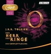 Cover-Bild zu Tolkien, J.R.R.: Der Herr der Ringe. Die Komplettlesung
