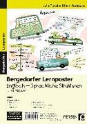 Cover-Bild zu Lernposter Englisch - Sprachliche Strukturen von Flasche, Julia
