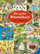 Cover-Bild zu Mitgutsch, Ali (Illustr.): Mein großes Wimmelbuch