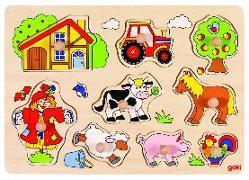 Cover-Bild zu Steckpuzzle Bauernhof VI