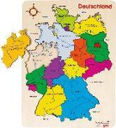 Cover-Bild zu Einlegepuzzle Deutschland II