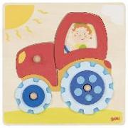 Cover-Bild zu Steckpuzzle Traktor