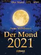 Cover-Bild zu Mühlbauer, Anna: Der Mond 2021 Tagesabreißkalender