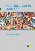 Cover-Bild zu Lernlandkarte Deutsch 4.-6. Schuljahr von Achermann, Edwin