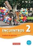 Cover-Bild zu Encuentros 2. Edicion 3000. Cuaderno de ejercicios mit Audio-CD