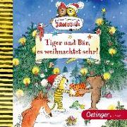 Cover-Bild zu Tiger und Bär, es weihnachtet sehr!