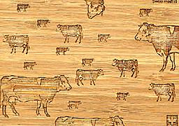Cover-Bild zu 27333 Bambus Kühe GVA_Swiss_Mad100