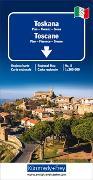 Cover-Bild zu Toskana Regionalkarte Italien Nr. 8. 1:200'000