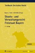 Cover-Bild zu Staats- und Verwaltungsrecht Freistaat Bayern