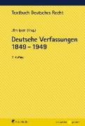 Cover-Bild zu Deutsche Verfassungen 1849 - 1949
