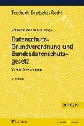 Cover-Bild zu Datenschutz-Grundverordnung und Bundesdatenschutzgesetz