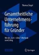 Cover-Bild zu Gesamtheitliche Unternehmensführung für Gründer von Siegel, Thomas