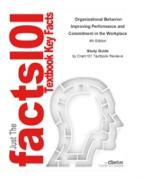 Cover-Bild zu Study Guide for Organizational Behavior: Improving Performance and Commitment in the Workplace (eBook) von Reviews, Cram101 Textbook
