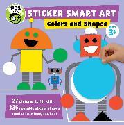 Cover-Bild zu PBS KIDS (Geschaffen): Sticker Smart Art: Colors and Shapes