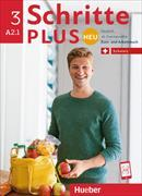 Cover-Bild zu Hilpert, Silke: Schritte plus Neu 3. A2.1. Ausgabe Schweiz. Kurs- und Arbeitsbuch mit CD