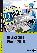 Cover-Bild zu Grundkurs Word 2016 (eBook) von Strauf, Heinz