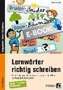 Cover-Bild zu Lernwörter richtig schreiben (eBook) von Ahlschläger, Katrin