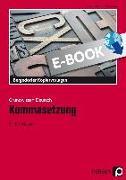 Cover-Bild zu Kommasetzung (eBook) von Grzelachowski, Lena