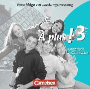 Cover-Bild zu Jorißen, Catherine: À plus! 3. Vorschläge zur Leistungsmessung